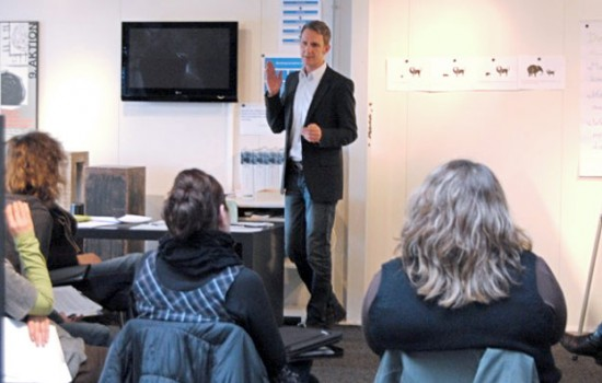 Das Seminar gegen Stress Günther Niederhuber mit Teilnehmer