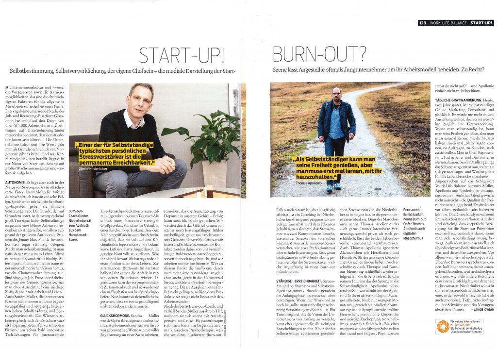 Start Up Burnout Artikel